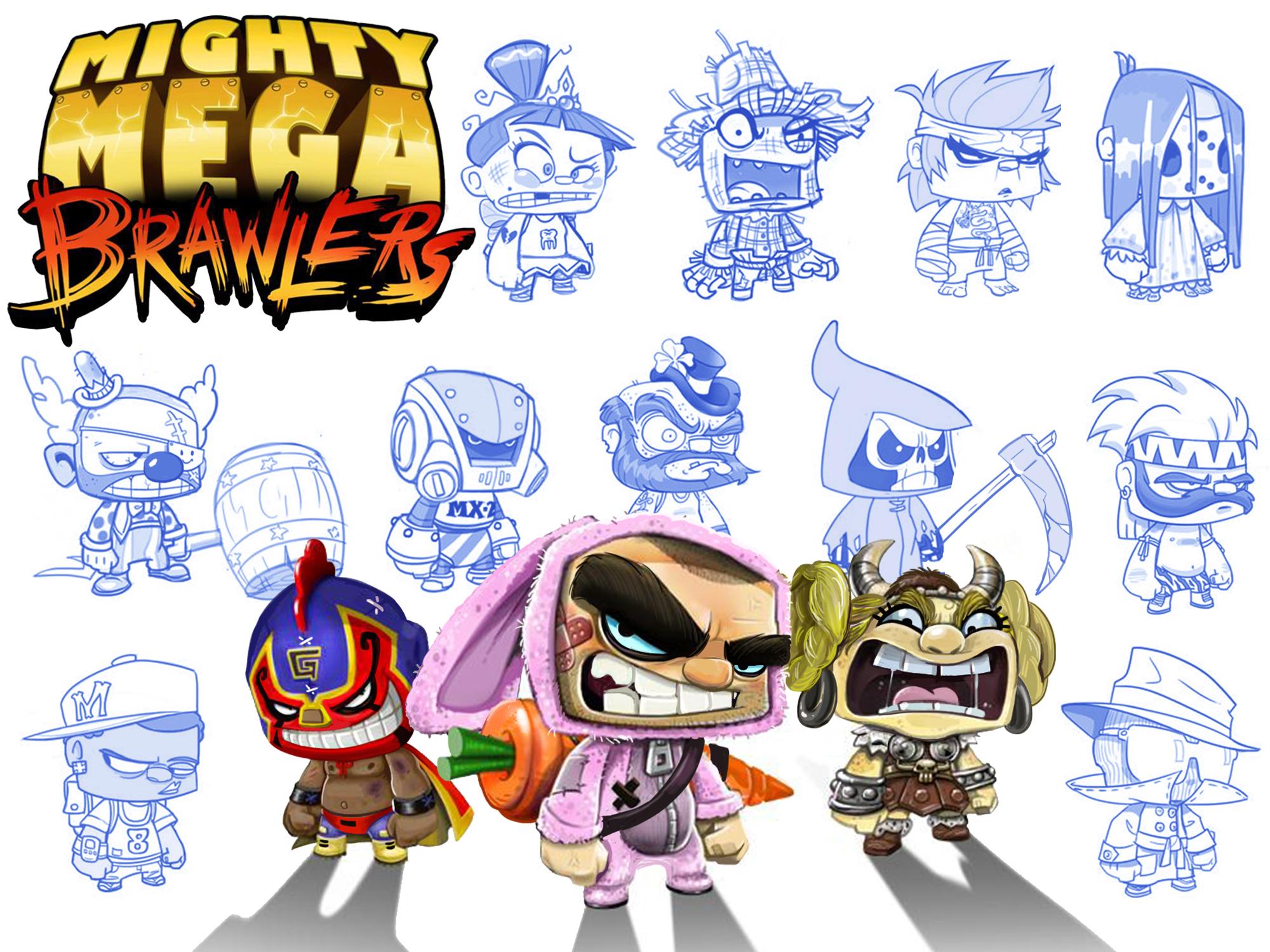 MightyMegaBrawlers